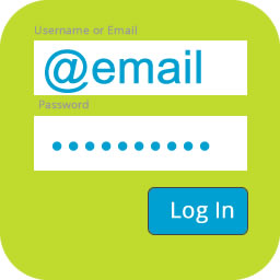 Login with Username or Email
